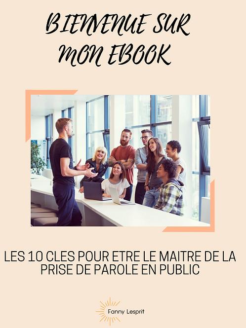 EBOOK Prise de parole en public