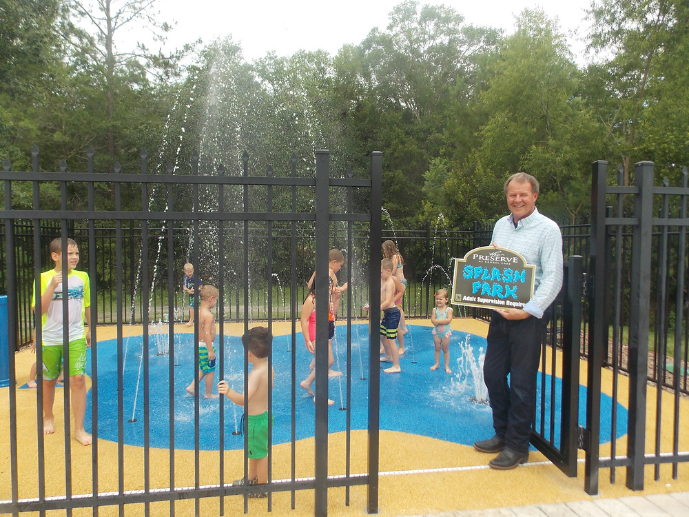 Our new Splash Park is ready this summer for any and all ages!
