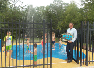 Have a COOL Summer in Our New Splash Park!!