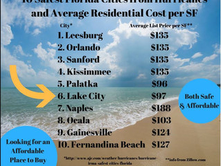 Safest and Most Affordable Places to Live in Florida