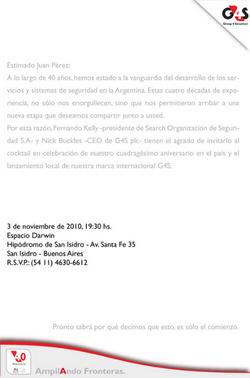 Invitación - G4S