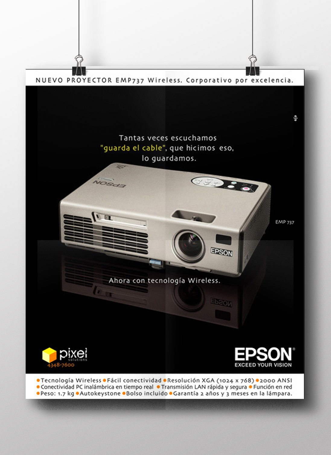 Epson Proyector wireless