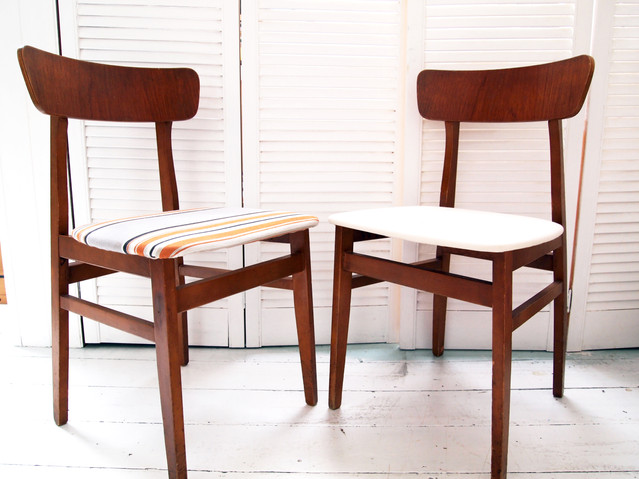 Two 70's Dining Chairs