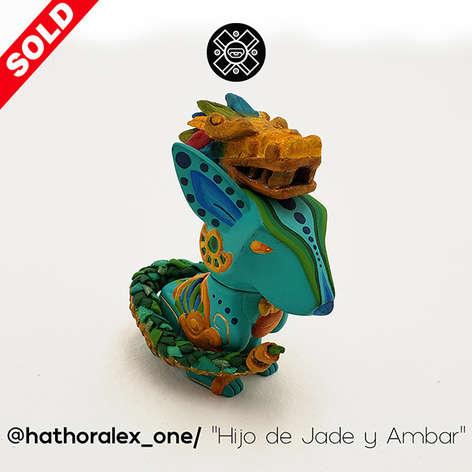 """@hathoralex_one_ _Hijo de Jade y Ambar""""."""