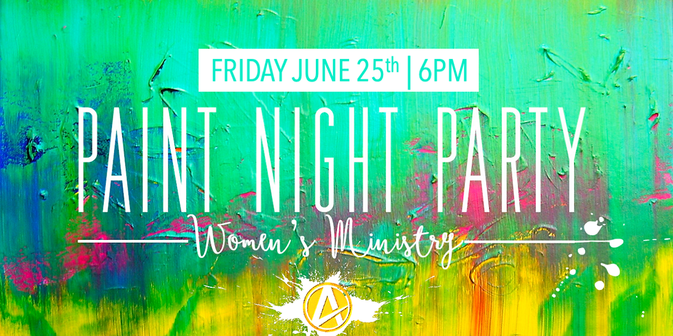 Paint Night Party  - $30