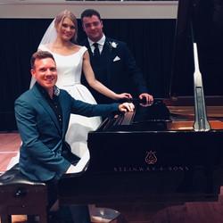 Elliot and Jess's wedding