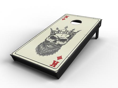 """Gangsta Poker """"Diamonds"""" Cornhole Board"""