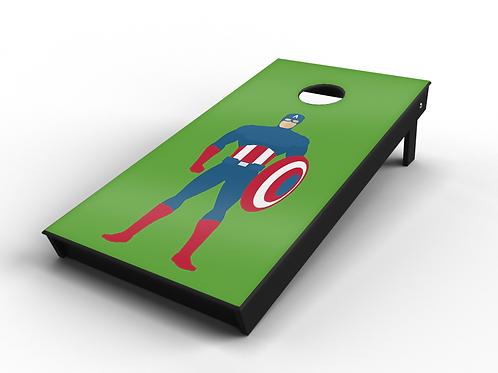 Captain America Cornhole Board