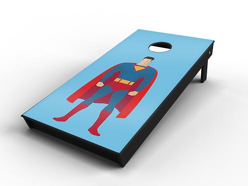 Superman Cornhole Board