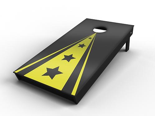 Classic Golden Triangle Cornhole Board