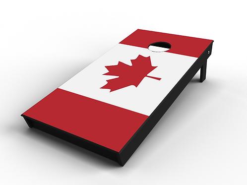 Canadian Flag Cornhole Board