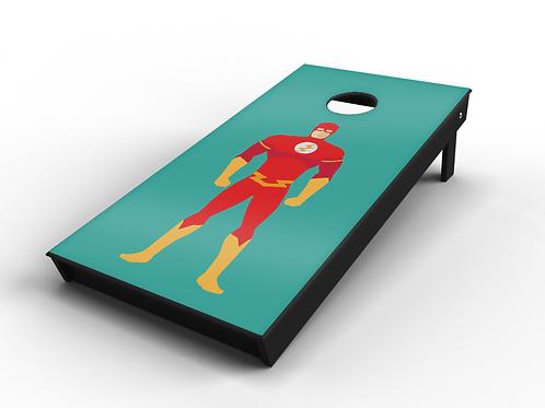 The Flash Cornhole Board