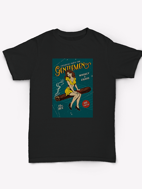 Vintage Gentlemens Party T-Shirt