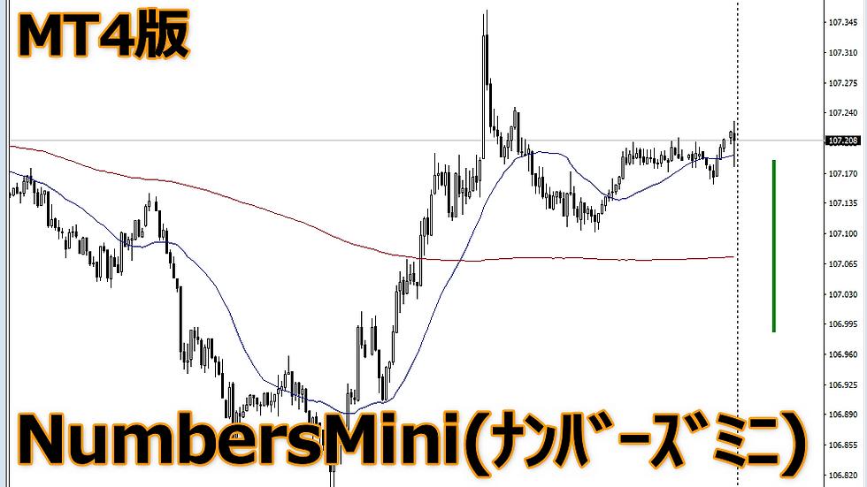 【勉2】MT4版NumbersMin(ナンバーズミニ)