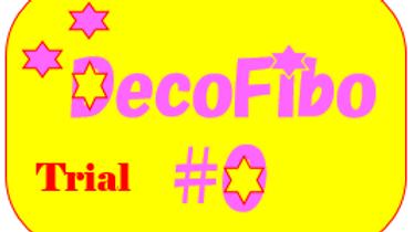 【MT4 トライアル版】DecoFibo#0(デコ・フィボ:オー) 標準のFRとFEを見やすくデコるインジケータ