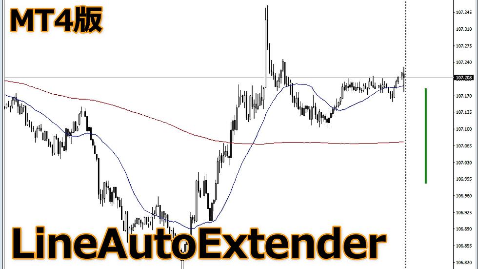 【勉2】MT4版 LineAutoExtender