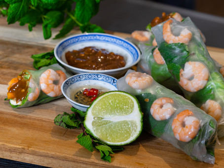 EASY RECIPE: Vietnamese Spring Roll