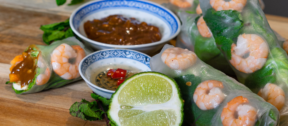 EASY RECIPE: Vietnamese Spring Roll