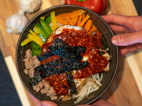 How to make Bibimbap EASY Recipe!