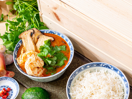 Easy Recipe: Thai Tom Yum Goong