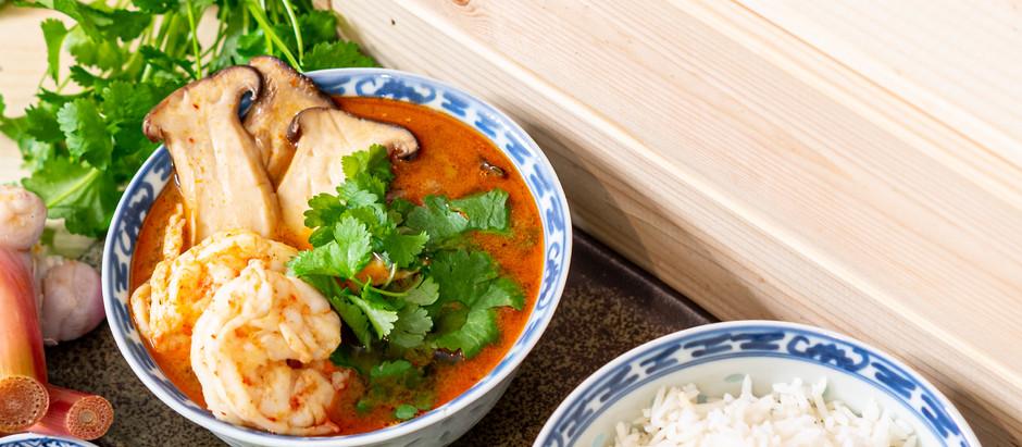 Easy Recipe: Thai Tom Yum Goong
