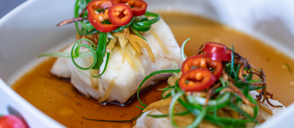 Chinese Cantonese Steam Fish (EASY RECIPE!)