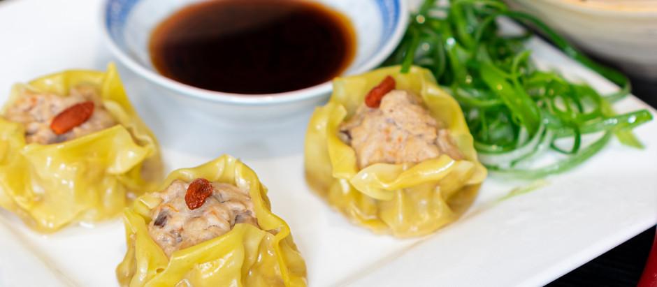EASY RECIPE: Cantonese Siumai (Shu Mai, 燒賣) Steamed Pork, Mushroom & Shrimp Dim Sum