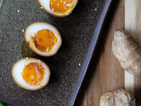 Japanese Marinated Ramen Egg - Ajitsuke Tamago Easy Recipe