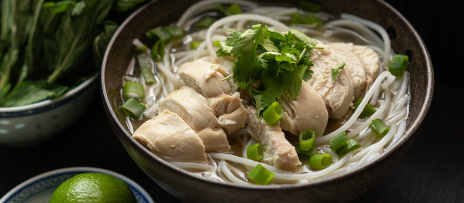 EASY RECIPE: Pho Ga, Vietnamese Chicken Noodle Soup
