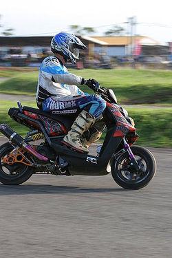 PG mono shock & exhaust