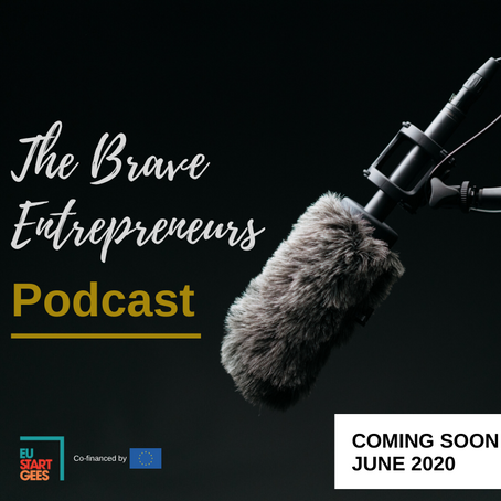 "EUStartGees on air! Introducing ""The Brave Entrepreneurs"" Podcast"