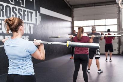 CrossFit Neumarkt Workout session