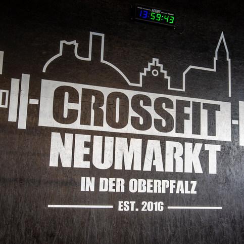 CrossFit Neumarkt Hauptwand