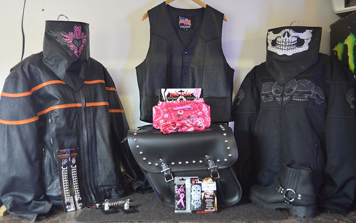 motorcycle jackets vest boots