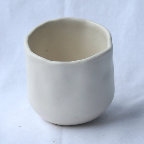 Cup Frosted White