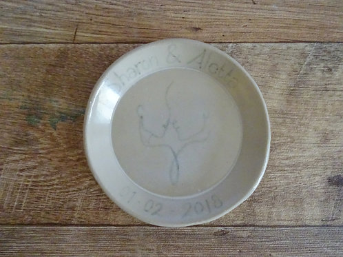 Marriage Memory Plate