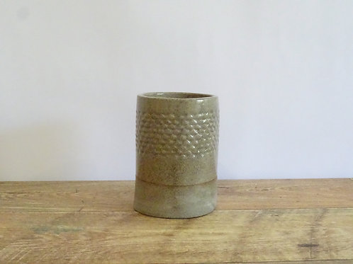Crystalline Utensil Pot with Holes