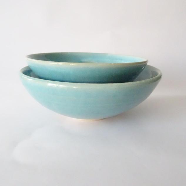 Blue Serving Bowls