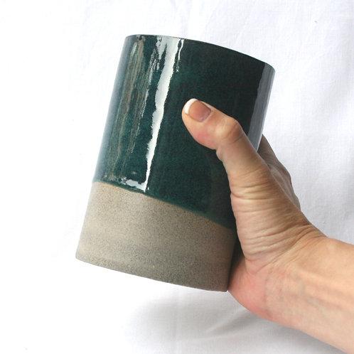 Dark Viridian Utensil Pot