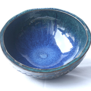 Blue Patterned Bowl