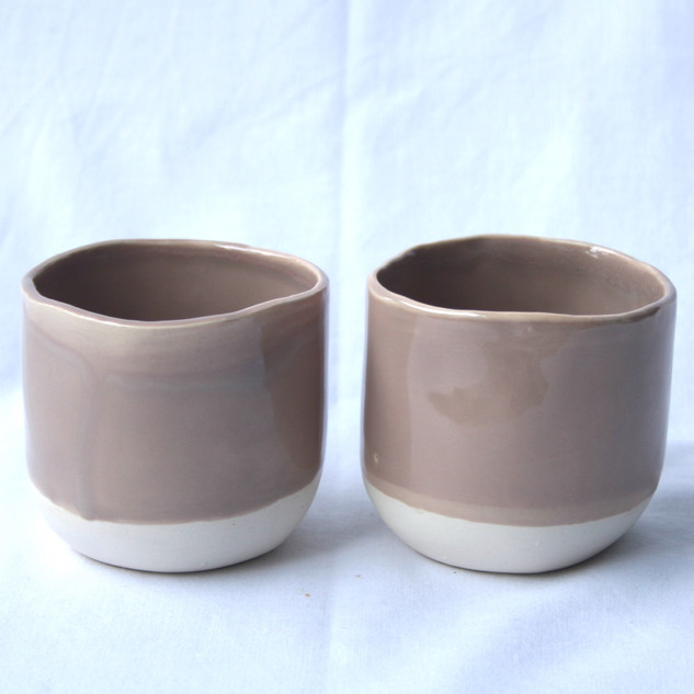 175 ml Cups Old Pink