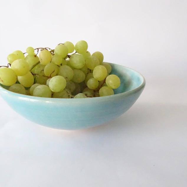 Blue Serving Bowl