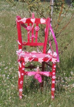 Chaise couleur