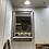 Thumbnail: Large silver rose gold modern mirror