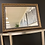 Thumbnail: Big gold Detailed mirror