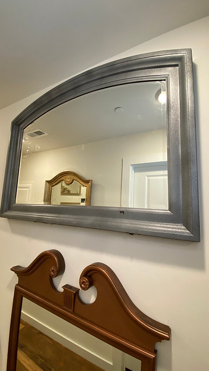 Huge Silver Sparkly mirror