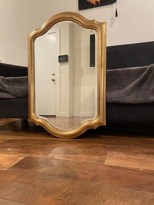 Gold classic mirror