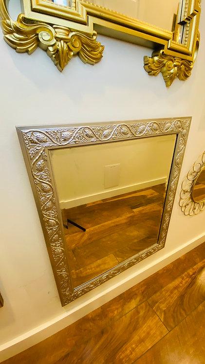 Silver Rectangle medium mirror