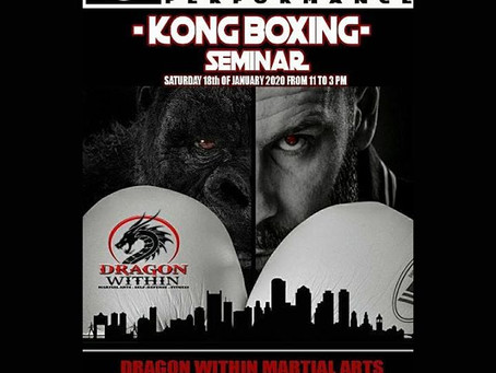 1st KONG DIRTY BOXING in SALEM