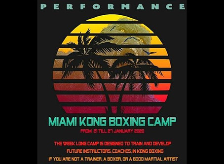 1st MIAMI BEACH seminars at World Famous 5th street Gym / UMA Miami Beach.